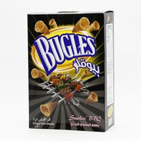 Bugles Corn Snack Bbq Flavored 18 g x 15 Pieces