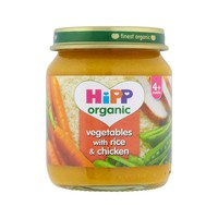 Hipp Organic Vegetable with Rice & Chicken 125 g