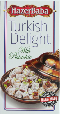 Hazer Baba Turkish Delight with Pistachio 100g
