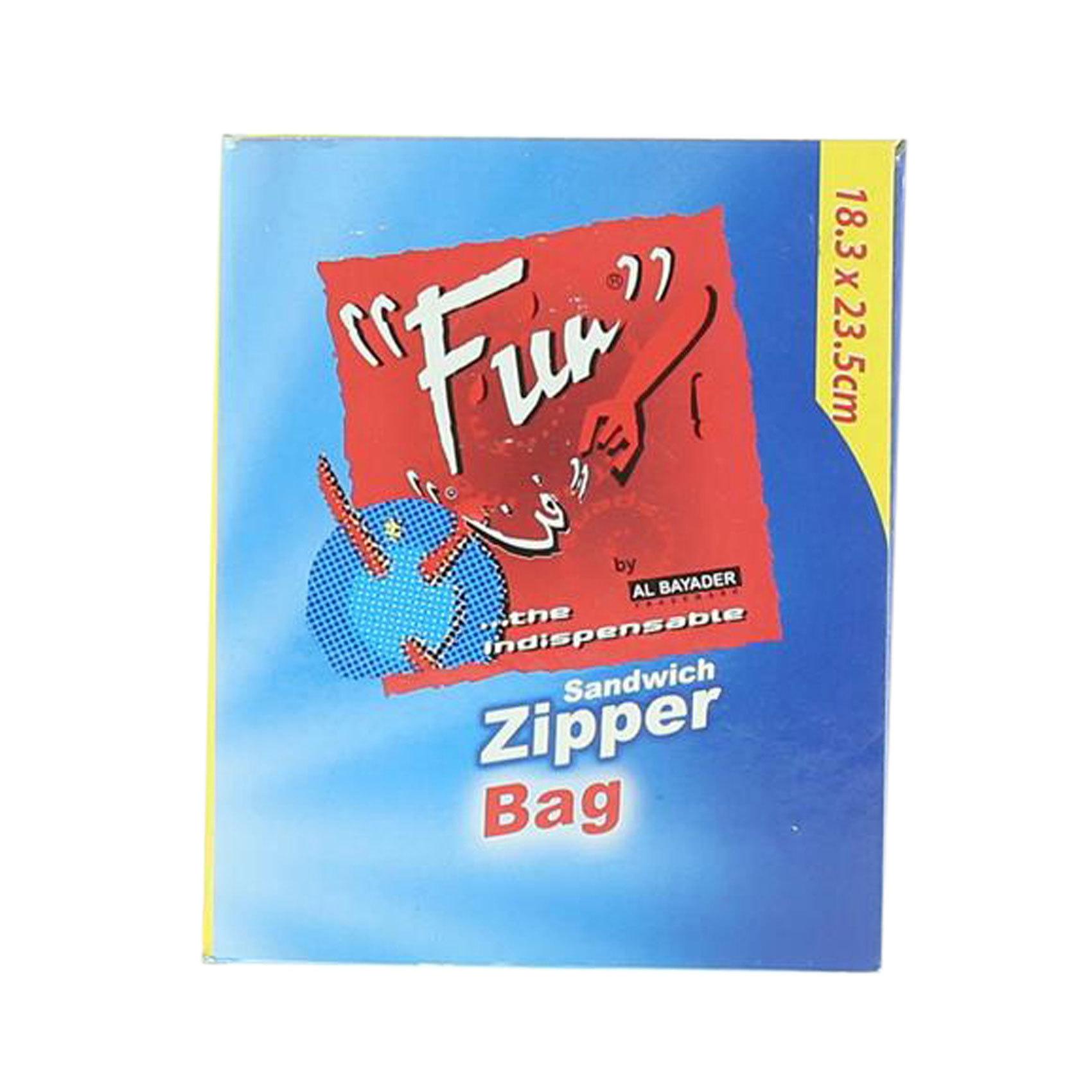 FUN ZIPPER BAGS 18.3X23.5CM