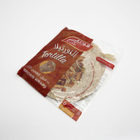 Fonte tortilla brown wraps bread 6 pieces - 250 g