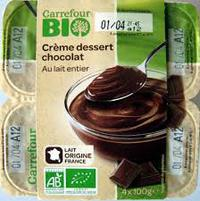 Carrefour Bio Chocolate Dessert 100gx4