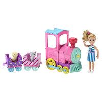 Barbie Club Chelsea Doll & Choo-Choo Train Playset