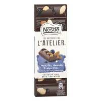 Nestle Atelier Dark Blueberries Hazelnuts Almods 100g