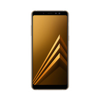 SAMSUNG Smartphone A8+ 2018 64GB Nano Single Card Android Gold