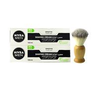 Nivea Shower Cream Mild X 2 Pack + Brush Free