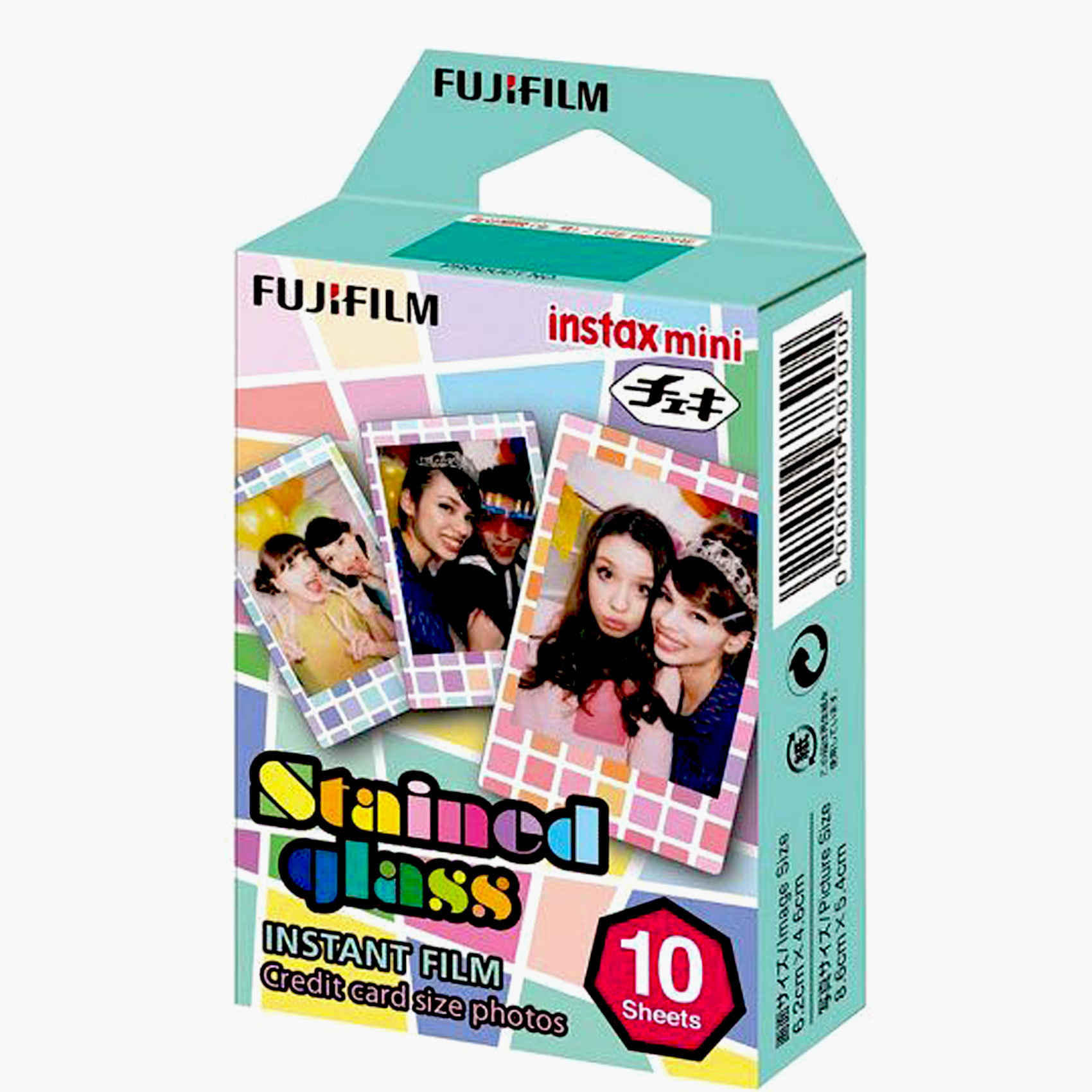FUJIFILM -FILM INSTAX MINI S.GLASS