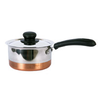 Raj Copper Btm Saucepan 16Cm