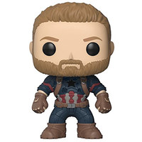 Funko Pop Games-Overwatch-Captain America Collectible Figure