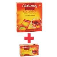 Alokozay Black Tea Bag 100's+25's Flavored Tea