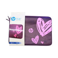 hp Hearts Notebook Case 15.6 Inch Pink