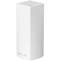 Linksys Wireless Whole Home Wi-Fi Mesh System WHW0301-UK Velop Tri-Band AC2200 Pack of 1