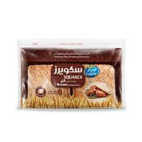 Lusine squares brown sandwich bread 252 g