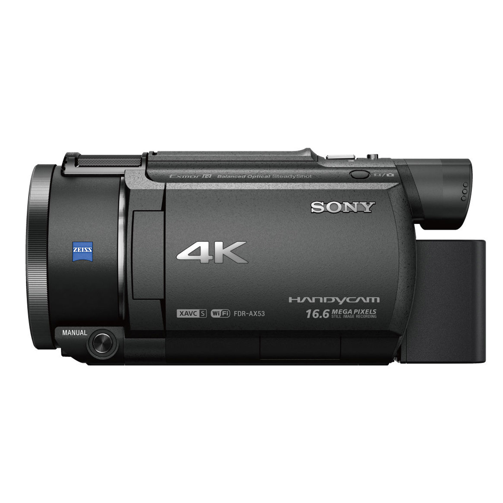 SONY CAM FDRAX53 4K+64GB+CASE