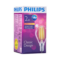 Philips LED Classic Design Warm White 2-25W E14