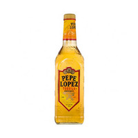 Pepe Lopez 40% Alcohol Gold Tequila 75CL