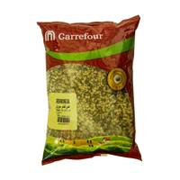 Carrefour Green Split Lentils 1 Kg