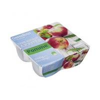 Carrefour Mashed Apple Sugar Free 100GR X 4