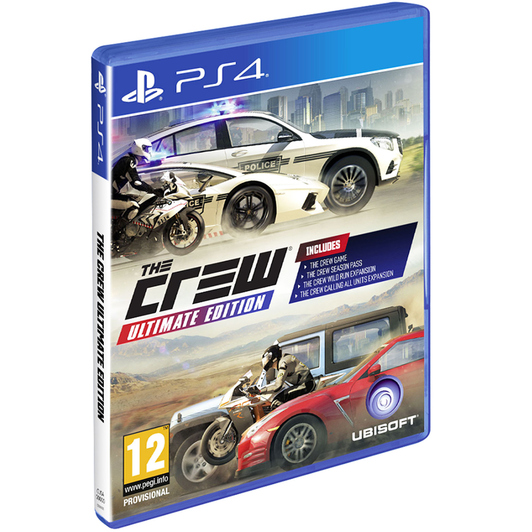 SONY PS4 THE CREW ULTIMATE EDITION