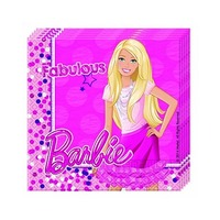 Mattel Napkin Barbie Magic 20 Sheets