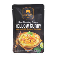 deSIAM Thai Cooking Sauce Yellow Curry 200g