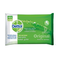 Dettol Original Anti-Bacterial Skin 10 Wipes