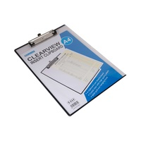Binder Max Clearview Insert Clip Board T 111