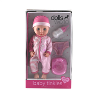 Dolls World BABY Tinkles Drink & Wet Doll 18 Months+