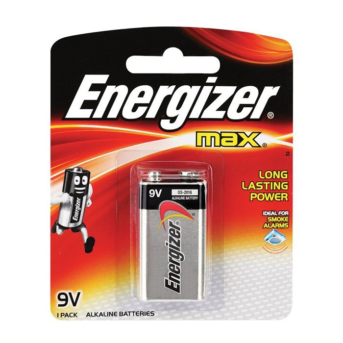 ENERGIZER MAX ALKALINE BATTERY 1PC