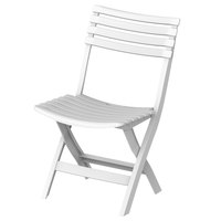 Cosmo Folding Chair White 2.8Kg