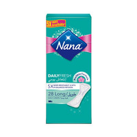 Nana Ladies Pads Pantyliner Long 28 Napkins