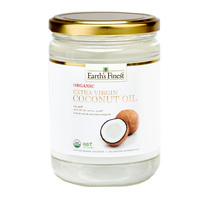 Earth`s Finest Organic Extra Virgin Raw Coconut Oil 500ml