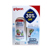 Pigeon Liquid Cleanser 450ml x2