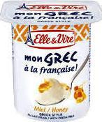 Elle & Vire dessert Honey 125g
