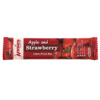 Annies Fruit Bar Apple & Strawberry 30g