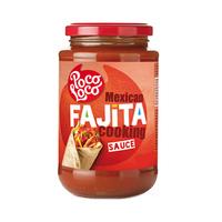 Poco Loco Fajita Salsa Jar 410GR