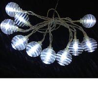 Indoor Bo Balls Light Chain 10 W Led 0,90M N57