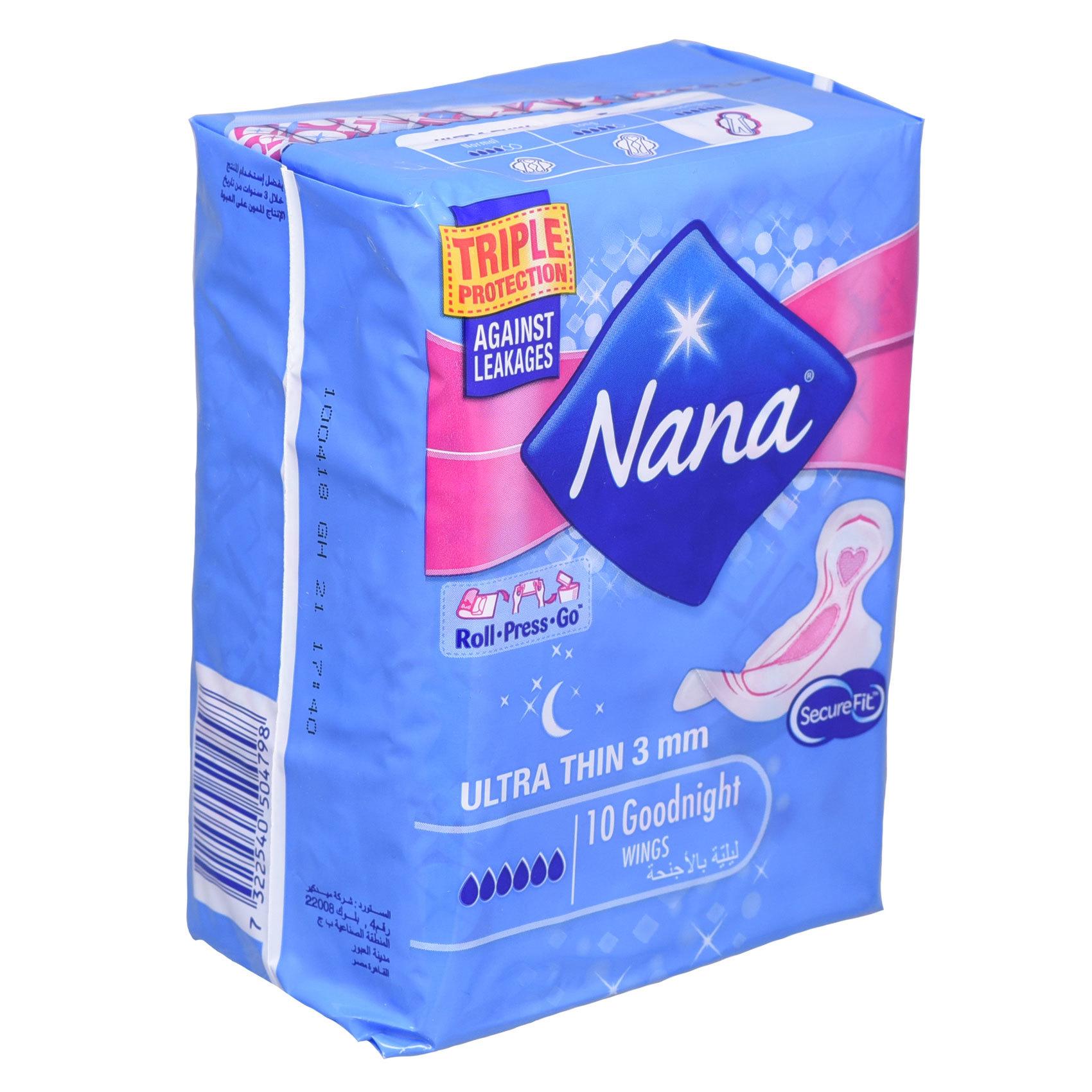 NANA ULTRA GOOD NIGHT 10'S