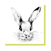 Duni Napkin Bunny Face 33CM 181737