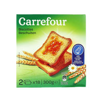 Carrefour Rusk Without Salt 300g