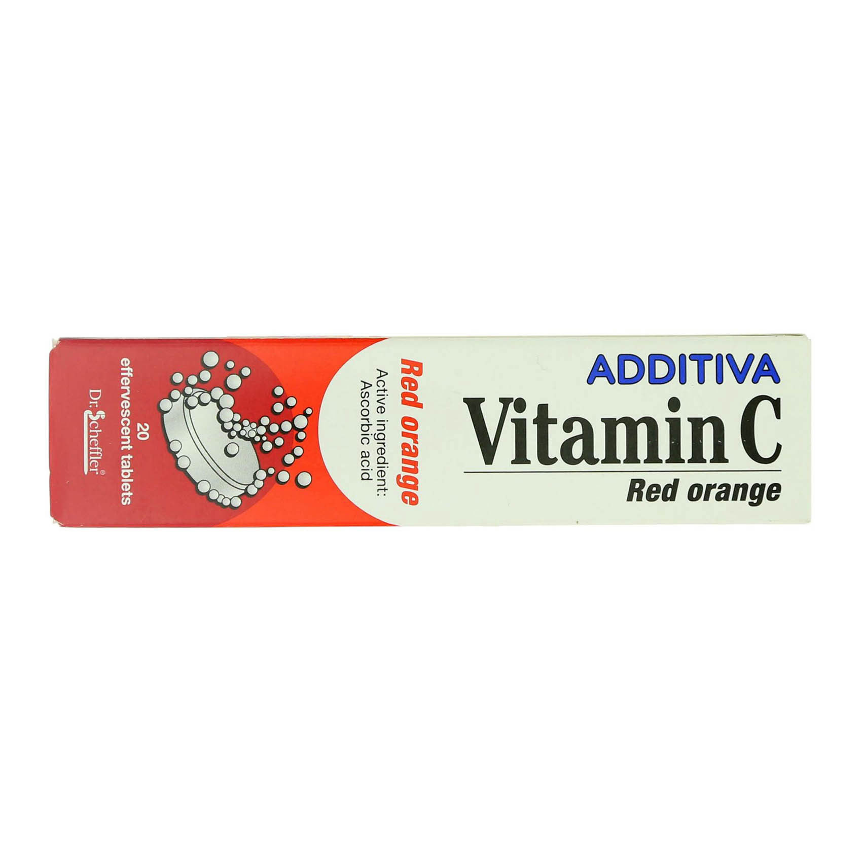 ADDITIVA VITAMIN C RED ORANGE 1000M