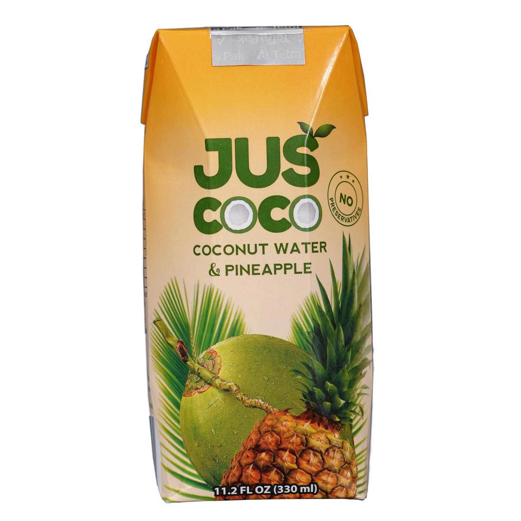 JUSCOCO COCONUT & PINEAPPLE 330ML