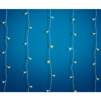 Outdoor Lv 2Mx1,5M 100Led Curtain Ww With 20Cw Flash
