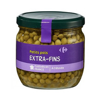Carrefour Peas Small 370ML