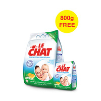 Le Chat Detergent With Aloe Vera 4KG +800G Free