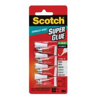 3M Scotch Glue Gel .07 Oz2Gram 4Tube