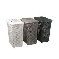 Rattan Laundry Basket Assorted