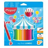 Maped Color Peps Jumbo Penci 18Clr