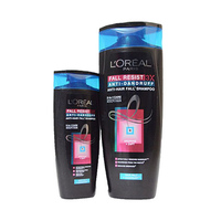 L'Oreal Paris Elvive Shampooing For Men Anti Dandruff 2 In 1 400ML + Conditioner 200ML 25%