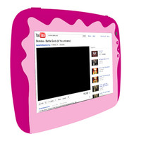 "iLife Tablet Kids Tab Quad Core 1.2Ghz 512MB RAM 8GB Memory 7"" Pink"